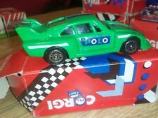 CORGI DIECAST MODEL CAR PORSCHE 935 RACING GREEN AND BLUE POLO MINTS