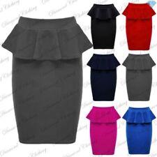 Faldas de mujer de poliéster