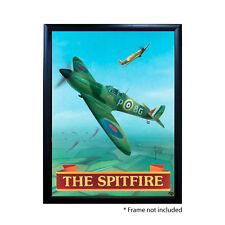 SPITFIRE PUB SIGN POSTER PRINT | Home Bar | Man Cave | Pub Memorabilia