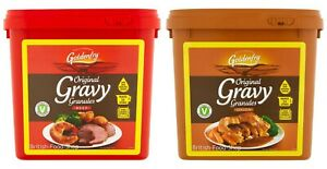 Goldenfry Gravy Granules 2kg Makes 27 Litres - Select Original Beef or Onion