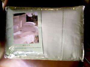 Linea Casa Fine Italian Linens Sferra Bros. - Celadon Green Sateen Sheets NEW