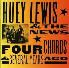 Huey Lewis, Huey Lew - Four Chords & Several Years Ago [New CD]