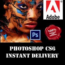 ✔ Adobe Photoshop CS6 32/64 bits Versión Completa-con llave oficial de descarga de Windows