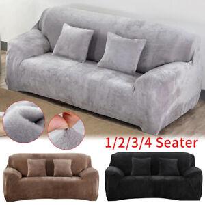 1-4 Sitzer Sofahusse Sofabezug Sofabezüge Überwürfe Stretchhussen Sesselbezug