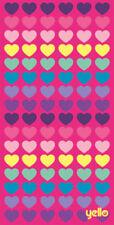 Toallas de baño y albornoces rosas de microfibra con toalla de baño