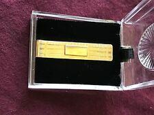 14k gold antique money clip