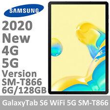 "Samsung Galaxy Tab 5G S6 SM-T866 10.5"" WiFi+5G RAM 6GB/128GB Unlocked Tablet PC"
