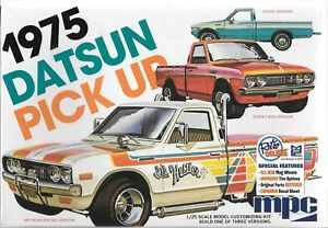 MPC Rétro de Luxe Édition 1975 Datsun Pickup Camion 1/25 872 -12 St Ca