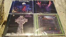 4CDs BLACK SABBATH - Forbidden + Tyr + Headless Cross + Cross Purposes