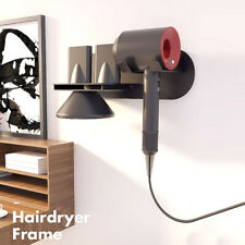 Hair Dryer Holder Wall Mount Holder for Dyson Supersonic Heavy Duty Stand Nozzle