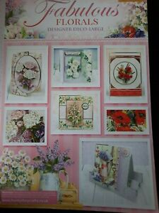Hunkydory Fabulous Florals Designer Deco-large Card Kit