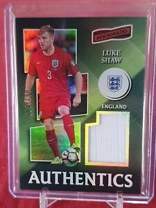 Luke Shaw England Panini Authentics 2016/17 Player Worn Jersey Card 1 of 199