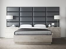 VANT Upholstered Headboards - Accent Wall Panels - Packs Of 4 - Deluxe Leather G