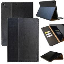 Smart Leder Cover für Apple iPad Air 1 Schutz Hülle Tasche Tablet Case schwarz
