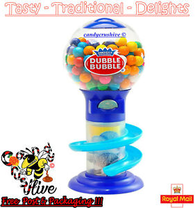 Gumball Vending Machine Gum Dispenser Coin Bank Toy Fun 50g Bubble Gum Included