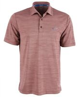 Attack Life GREG NORMAN 5 Iron Space-Dye Mens GOLF POLO Red Size Small $49 -NWT