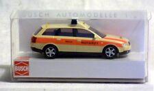 Busch 49262 AUDI A4 AVANT Notarzt Neuware.