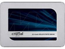 "Crucial 500GB SSD MX500 2.5"" SATA III 3D NAND Internal Solid State Drive"