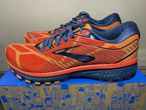 New Brooks Ghost 12 Size 10 Mens Limited Edition Running Shoes Thanksgiving