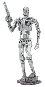Fascinations ICONX Terminator T-800 Endoskeleton 3D Metal Earth Model Kit ICX141