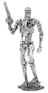 Fascinations ICONX Terminator T-800 Endoskeleton 3D Metal Earth Model Kit ICX141