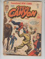 Steve Canyon 5 Good Plus (2.5) 10/48 Harvey Enterprises, Inc!