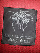Darkthrone _ True Norwegian Black Metal _ Aufnäher _ Patch _  Wacken _ 2003