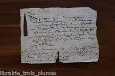 ✒ LS Henry de BOURBON MONTPENSIER Bretagne LIGUE longue note autographe 1591