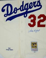 Sandy Koufax Autographed Dodgers Mitchell & Ness Jersey