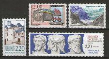 SERIE TIMBRES 2545-2548 NEUF XX LUXE - SERIE TOURISTIQUE DE 1988