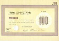 Huta hegerfeld AG 100dm comida 1973