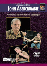 """""""An Evening with John Abercrombie"""" DVD-SEALED-NEW-Performances and INSTRUCTION!!"""