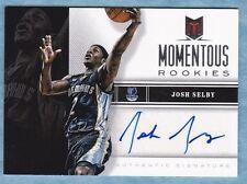 2012-13 Momentum Basketball ~ Josh Selby ~ Grizzlies ~ Momentous Rookie Auto #85