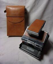 Polaroid SX-70 Land Camera w/ Leather Case 1970's Vintage Camera