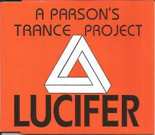 A PARSON'S TRANCE PROJECT Lucifer 4TEX MIXES & EDIT CD Single SEALED USA seller