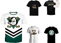 Anaheim Ducks 3D T-shirt NHL Hockey Casual NewTee Men Women Style Size S - 7XL