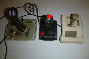3x alte Joysticks - GRAVIS SPECTRAVIDEO SVI QUICKSHOT - Vintage