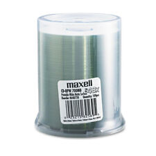 Maxell CD-R Discs 700MB/80 min 48x Spindle Printable Matte White 100/Pack 648720