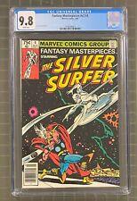 FANTASY MASTERPIECES #v2 #4 Marvel Comics 1980 CGC 9.8 Silver Surfer vs THOR
