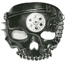 Steampunk Skeleton Partial Face Mask Costume Masquerade Ss73779