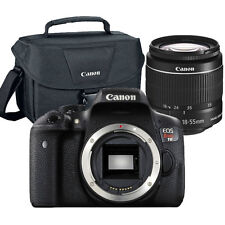 Canon EOS Rebel T6 18MP DSLR Camera with EF-S 18-55mm Lens + Original Canon Case