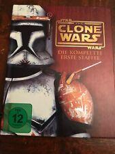 Blue Ray Star Wars The Clone Wars - Komplette Erste Staffel Season 1 Drei Discs