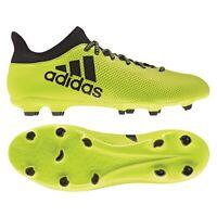 Adidas X 17.3 Fg Hommes Chaussures de Football Came Firm Terrain Pelouse Neuf De