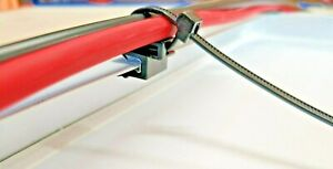 Kabel Clip mit Kabelbinder für Solarmodule Photovoltaik - Solarkabel befestigen
