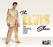 THE ELVIS SHOW THE ESSENTIAL EARLY ELVIS - 3 CD BOX SET - TUTTI FRUTTI & MORE