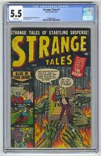 Strange Tales #1 CGC 5.5 Atlas Comics 1951 Horror! White Pages! K8 205 cm
