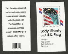 3974 3974a BK300 NON-DENOMINATED  Lady Liberty Flag Vending Unopened Mint NH