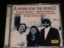 A HYMN FOR THE WORLD<>BARTOLI & BOCELLI  ~ CANADA  CD  (1997)  °  DGG G2 57355