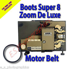 BOOTS SUPER 8 ZOOM DE LUXE 8mm Cine Projector Belt (Main Motor Belt)