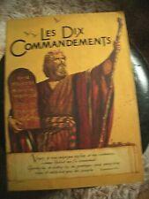 Dossier de presse film Les dix commandements Cecil B deMille 1956 16 pages TBE